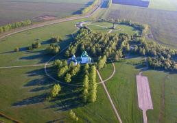 Куликово поле. Красный холм (вид сверху)